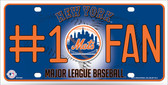 Mets Fan Wholesale Metal Novelty License Plate
