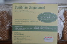 Cumbrian Gingerbread Label
