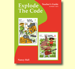 Explode the Code Teacher's Guide Books 7 & 8