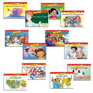 Learn to Write Readers 1-2 Variety Pack