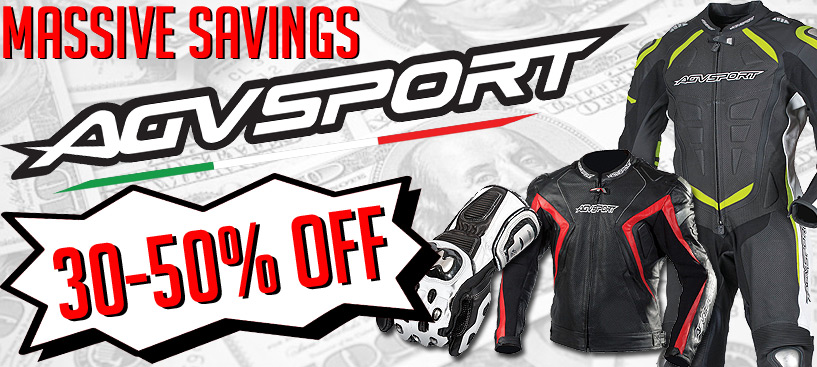 All AGV Sport Gear On Sale - Save up to 50%