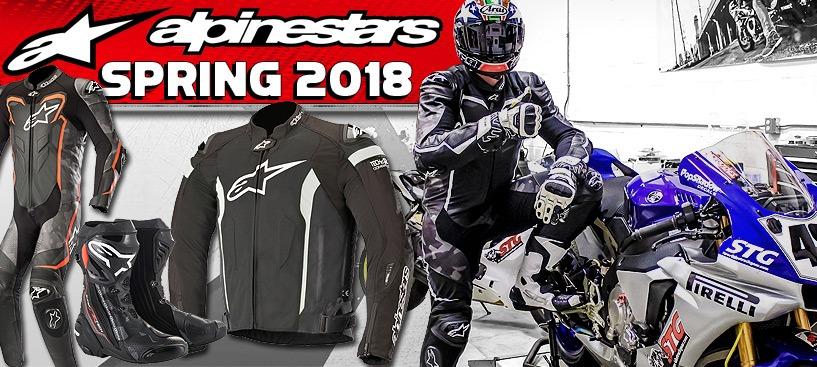 2018 Alpinestars Spring Gear Just Dropped