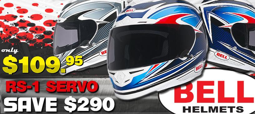 Save $290 on The Bell RS-1 Servo Helmet