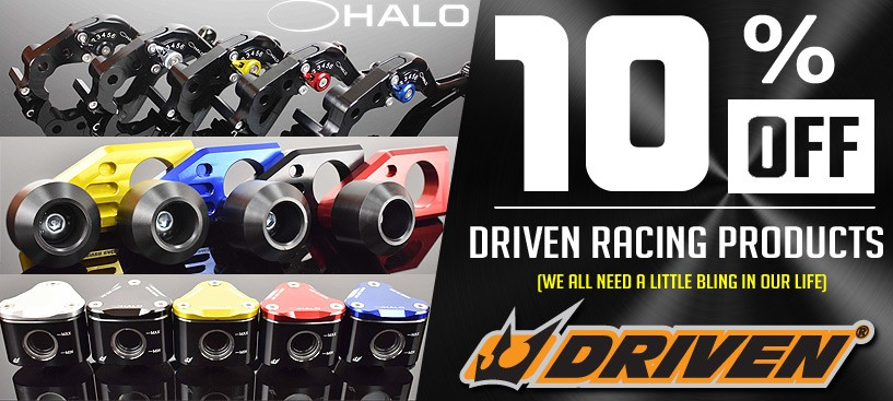 Driven Racing Performance Parts 10% Off Now