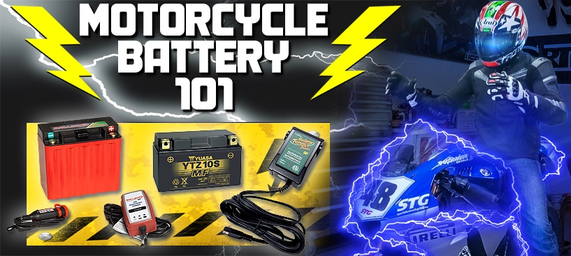 Motorcycle Battery 101 How To STG Guide