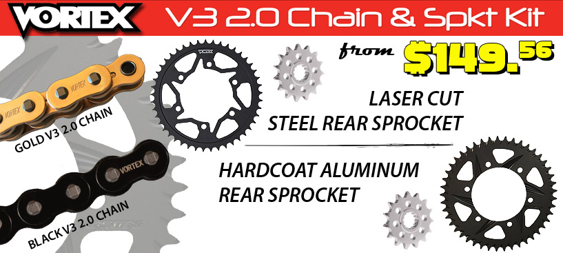 Shop Vortex Chain Kits and Save 15% with STG