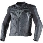 Dainese Avro D1 Leather Jacket Black/Black/Anthracite
