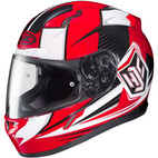 HJC CL-17 Striker Helmet Red/Black/White