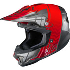 HJC CL-X7 Cross Up Helmet Red/Gray