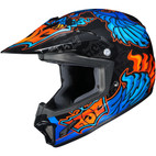 HJC CL-XY 2 Youth Eye Fly Helmet Blue/Orange/Black