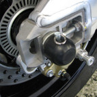 Woodcraft Aprilia Dorsoduro 09-14 Rear Axle Slider Kit