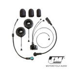 J and M Performance Series Flip Front Headset
