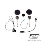 J and M Elite Hi-Speaker Full Face Headset