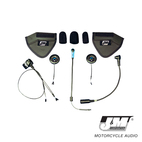 J and M Elite Hi-Speaker Shorty Style Headset