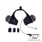 J and M Elite Hi-Speaker Shorty Style Slide-In Headset
