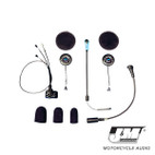 J and M Elite Hi-Speaker Open/Flip/Full Face Style Headset