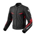 REV'IT! Masaru Leather Jacket Black/Red
