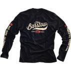 100% Barstow Long Sleeve Black T-Shirt 1