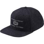 100% Broomley Herringbone Snapback Hat 1