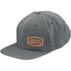 100% Callahan Heather Grey Snapback Hat 1