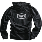 100% Corpo Black Hoody 1