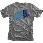 100% Daytona Heather Grey T-Shirt 1