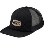 100% Diner Black Trucker Hat 1