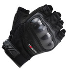 RS Taichi Protection Half Finger Mesh Glove RST405 Black