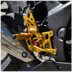 Hotbodies Racing Honda CBR250R 11-13 Rearsets