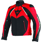 Dainese Hawker D-Dry Jacket Black/Red/White