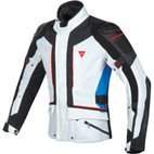 Dainese D-Cyclone Gore-Tex Jacket Glacier Gray/Black/Strong Blue