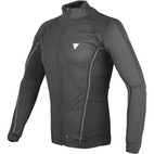 Dainese D-Core No Wind Thermo Long Sleeve Shirt Black/Anthracite