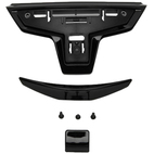 Shoei X-Fourteen Helmet Lower Air Intake Black