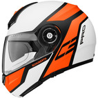 Schuberth C3Pro Echo Helmet Orange