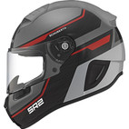 Schuberth SR2 Lightning Helmet Red