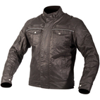 AGV Sport Roadster Waxed Cotton Jacket Black