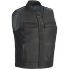 Tour Master Renegade Leather Vest Black