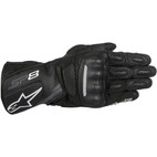 Alpinestars SP-8 V2 Leather Gloves Black/Gray