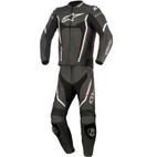 Alpinestars Motegi V2 Two Piece Leather Race Suit Black/White/Red