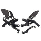 Attack Performance Honda CBR1000RR 08-16 Rearsets Black