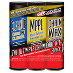 Maxima Chain Wax Care Combo Kit