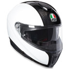 AGV Sport Modular Carbon Helmet White