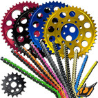 Driven 520 Chain and Sprocket Kit BMW S1000RR 13-17 HP Forged Wheels