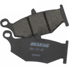 Braking Kawasaki EX300 Ninja/SE (w/ ABS) 13-16 SM1 Semi Metallic Rear Brake Pads