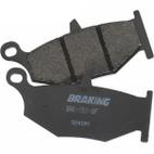 Braking Kawasaki EX300 Ninja/SE (w/ ABS) 13-17 SM1 Semi Metallic Rear Brake Pads