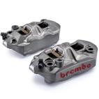 Brembo Yamaha FZ-09 14-16 300mm Rotors 108mm Radial M4 Monobloc Front Caliper Kit