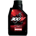 Motul 300V 5W40 Synthetic Ester Motorcycle Oil