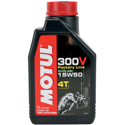 motul 300v 15w50 synthetic ester motorcycle oil