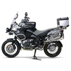 Two Brothers BMW R1200GS/GSA 08-09 M-2 Standard Series Slip-On Exhaust