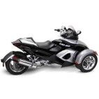Two Brothers Can-Am Spyder 08-12 M-2 Black Series Slip-On Exhaust